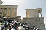 Ταλαιπωρία των τουριστών στην Ακρόπολη