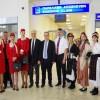 Καβάλα: Θερμή υποδοχή στην πρώτη πτήση της Ellinair από Μόσχα