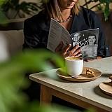 Café-Restaurant στο μουσείο με την σφραγίδα του ΙΤ