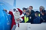 Ο Άγιος Βασίλης βάφτισε αεροσκάφος της TUI