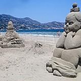 4ο Φεστιβάλ Γλυπτικής στην άμμο στην Αμμουδάρα Ηρακλείου