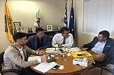 Συνάντηση Κόνσολα με το Σύλλογο Αρχιτεκτόνων Δωδεκανήσου
