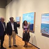 """Έκθεση ζωγραφικής: Λιβυκό πέλαγος και Αστερούσια """"πλημμυρίζουν"""" την Βασιλική του Αγ. Μάρκου στο Ηράκλειο"""