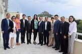 Συνάντηση Κουντουρά με τον πρόεδρο του Επιμελητηρίου της Σαγκάης για επενδύσεις