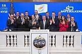 Ο πρόεδρος της Κύπρου Νίκος Αναστασιάδης έσπασε το ξύλινο σφυρί της Wall Street (βίντεο)