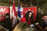 Ελληνίδα καθηγήτρια εκλέγεται με 60% στην καναδική Βουλή (βίντεο)