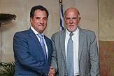 Συνάντηση Α. Γεωργιάδη με τον Πρόεδρο της ΟΚΕ κ. Γιώργο Βερνίκο