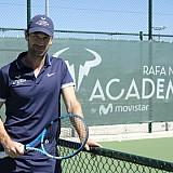 O προπονητής του Rafael Nadal στο Sani Resort για προπονητικές εμφανίσεις
