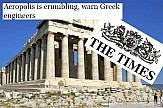 Times: «Καταρρέει η Ακρόπολη!» – τι λέει το υπουργείο Πολιτισμού