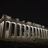 Ο Κ. Μητσοτάκης στα αποκαλυπτήρια του έργου αναβάθμισης του φωτισμού στον ιερό βράχο της Ακρόπολης (video)