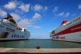 Μικρή μείωση επιβατών στα ελληνικά λιμάνια το α' 3μηνο