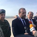 Επίσκεψη του Διοικητή των Αμερικανικών Δυνάμεων στην Ευρώπη στο λιμάνι Αλεξανδρούπολης