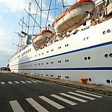 CLUB MED II: Γάλλοι και Βέλγοι τουρίστες κρουαζιέρας στις ακτές του Θερμαϊκού