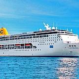 Costa Cruises: Προσεγγίσεις σε ελληνικά λιμάνια τη χειμερινή σεζόν