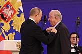 Παρασημοφόρηση του Νίκου Δασκαλαντωνάκη από τον Βλαντιμίρ Πούτιν