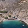 H μαγευτική παραλία των Γλάρων στη Χίο από ψηλά