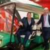 Europcar: αυτοκινητάκια γκολφ για τις μετακινήσεις σε εκθεσιακούς χώρους