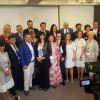 Στο πάνελ του συνεδρίου (από αριστέρα) ο κ. Αντώνης Μιτζάλης, Μέλος ΔΣ ΠΟΞ, ο κ. Γιώργος Τζιάλλας, Γ.Γ. Τουριστικής Πολιτικής και Ανάπτυξης Υπουργείο Τουρισμού, ο κ. Λύσανδρος Τσιλίδης, Πρόεδρος FEDHATTA και η κα Νικόλ Καζαντζίδου, Δημοσιογράφος - Συντονί
