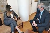Συνάντηση Yφυπουργού Τουρισμού και Γενικού Γραμματέα ΕΟΤ