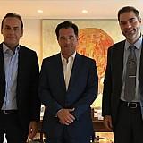 Συνάντηση Α. Γεωργιάδη με τους δημάρχους Γλυφάδας και Αλίμου για την επένδυση στο Ελληνικό