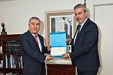Συνάντηση Γ.Γ. ΕΟΤ με τον Πρέσβη της Ιορδανίας