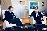 Συνάντηση Χάρη Θεοχάρη με τον Ευρωβουλευτή της Ν.Δ. κ. Μανώλη Κεφαλογιάννη