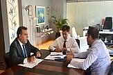 Συνάντηση εργασίας για θέματα μεταφορών στο υπουργείο Τουρισμού