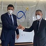 Αεροδρόμιο Αθήνας: Συνάντηση Κικίλια - Παράσχη - Κοινή στόχευση για την περίοδο μετά τον COVID