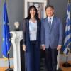 Η Ε. Κουντουρά στη Ν.Υόρκη- Επαφές για προβολή της Ελλάδας