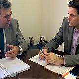 Συνάντηση Κόνσολα-Κουρμούση για τα δάνεια των τουριστικών επιχειρήσεων
