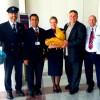 Λήμνος: Υποδοχή επισκεπτών από τη Βρετανία στο αεροδρόμιο