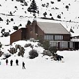 Βελτίωση του δρόμου προς το Χιονοδρομικό Κέντρο της Οστρακίνας