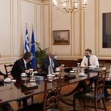 Συνάντηση Μητσοτάκη με ανώτατα στελέχη της Fraport και της Fraport Greece