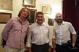 Ολλανδοί δημοσιογράφοι στην Κέρκυρα