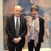 Η Υπουργός Τουρισμού, Έλενα Κουντουρά με τον Γ.Γ. του ΕΟΤ, Δ. Τρυφωνόπουλο και τον Πρέσβη της Ελλάδας στο Ν.Δελχί, Πάνο Καλογερόπουλο