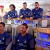 """Τα αστέρια της Ρεάλ Μαδρίτης στο """"δικό τους"""" αεροσκάφος της Emirates"""