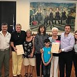 Νέες βραβεύσεις διεθνών επισκεπτών της Ρόδου