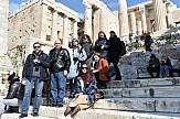 Press trip Ρώσων δημοσιογράφων στις βυζαντινές πολιτιστικές διαδρομές της Αττικής