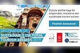 Ελληνική υποψηφιότητα στα βραβεία Προορισμού Αειφόρου Πολιτιστικού Τουρισμού 2019