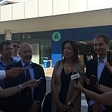 Η πρώτη διεθνής πτήση στην Κέρκυρα σήμερα- Δηλώσεις Θεοχάρη