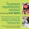 Ο τουρισμός παρατήρησης πουλιών στην Κρήτη