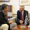 Θεσσαλονίκη: O τουρισμός στη συνάντηση Τζιτζικώστα με το Γ. Πρόξενο της Γερμανίας