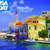 USA Today: Τα Δωδεκάνησα στους 10 ιδανικούς προορισμούς διακοπών τον Οκτώβριο