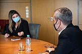 Eπίσκεψη της υφυπουργού Τουρισμού Σοφίας Ζαχαράκη στη Θεσσαλονίκη
